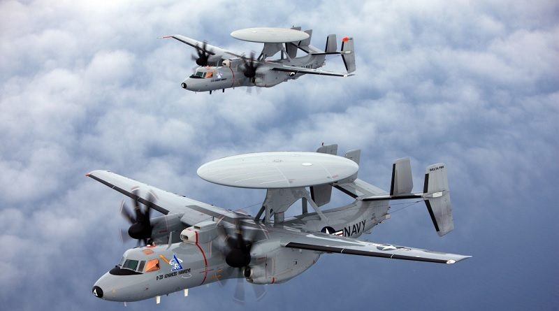 Lockheed Martin Radar Sensor Systems Northrop Grumman APY-9 radars U.S. Navy E-2D aircraft program.