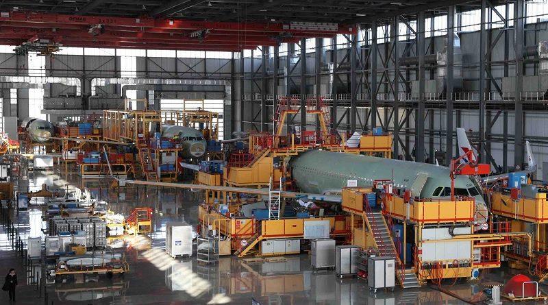 Airbus A319 A320 Cina Produzione