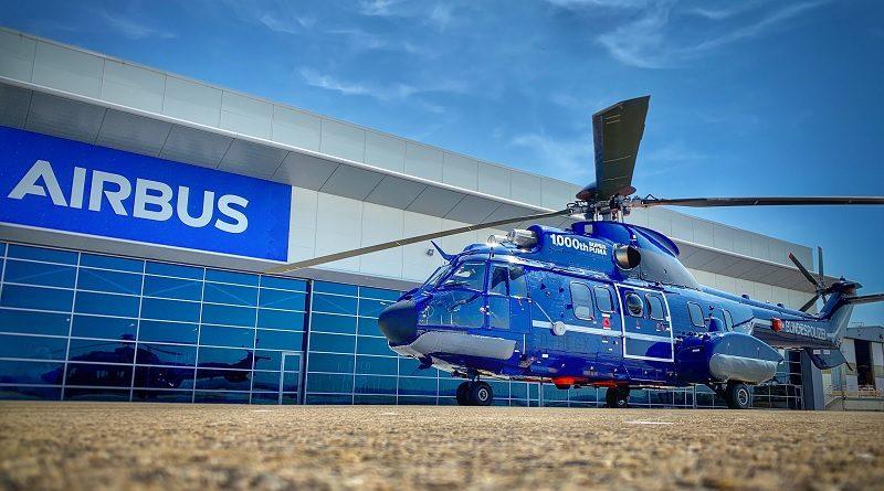 Airbus Helicopters 1000° elicottero Super Puma - H215 Polizia Federale tedesca - Bundespolizei