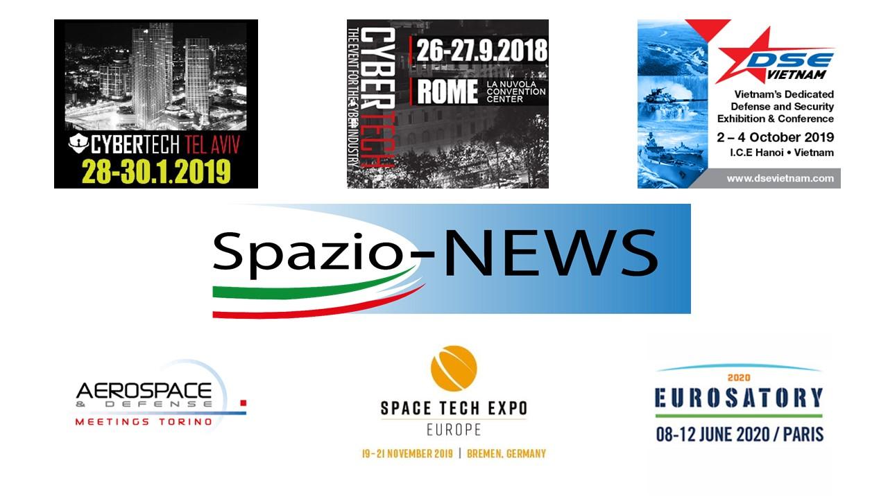 Eventi Spazio-News Magazine 2019