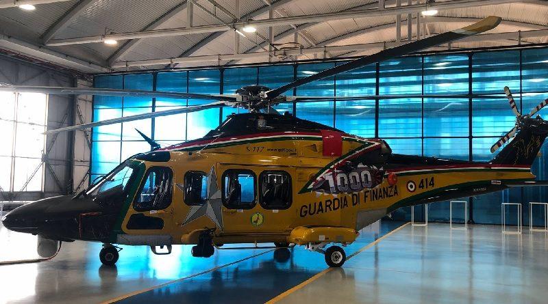 Elicottero AW139 Leonardo 1000 Guardia di Finanza