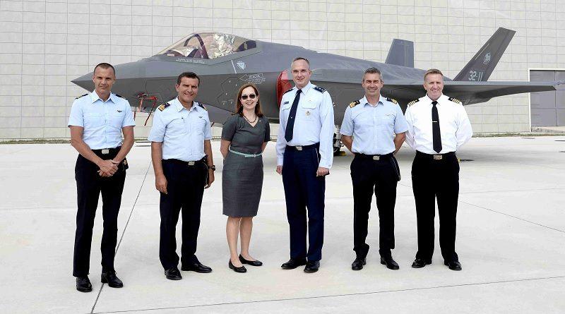 F-35 visita Amendola USA Aeronautica Militare Italiana