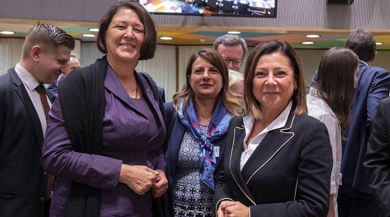 Ministro Infrastrutture e Trasporti Paola De Micheli Consiglio UE dei Trasporti