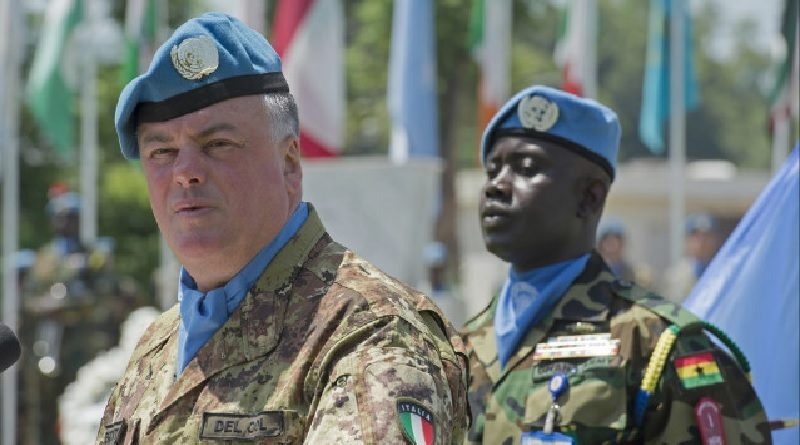 Generale di Divisione Stefano Del Col - Head of Mission e Force Commander di UNIFIL ONU