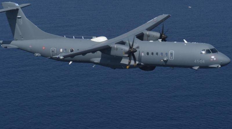 Guardia di Finanza - GdiF Leonardo ATR 72MP - Pattugliamento Marittimo aereo