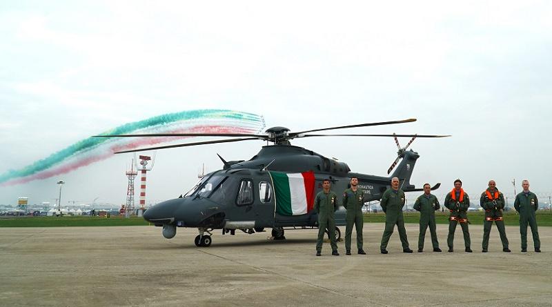 Milano Linate Airshow 2019 frecce tricolori elicottero