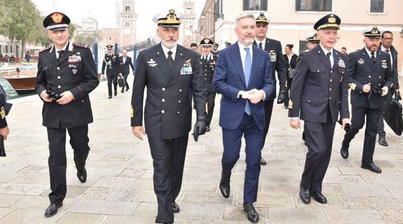 Ministro della Difesa Lorenzo Guerini, Vecciarelli, Venezia