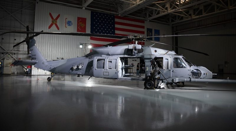 Sikorsky HH-60W helicopter US Air Force USA