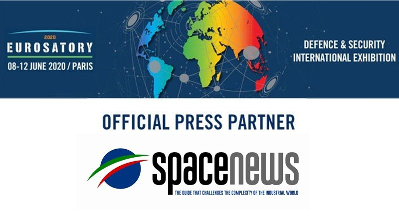 Spazio-News Magazine is media partner on Eurosatory 2020 Defence & Security Event 800x446