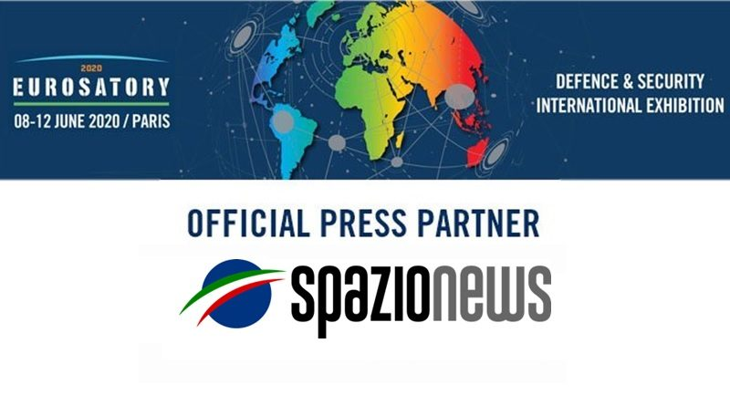 Spazio-News Magazine media partner Eurosatory 2020 Defence & Security Event 800x446
