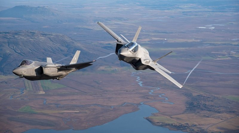 2 Lockheed Martin F-35 Lightning II - Joint Strike Fighter-F35 Aeronautica Militare Italiana
