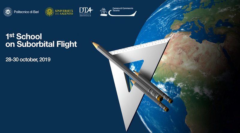 Aeroporto Grottaglie Taranto 1st School on Suborbital Flight