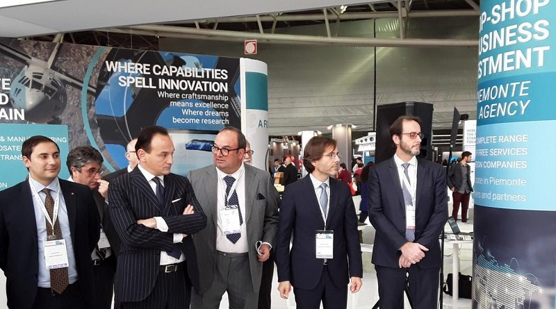 Aerospace & Defense Meetings 2019 - inaugurazione fiera Piemonte