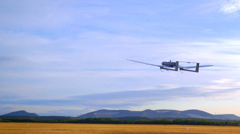 Aliaca drone ad ala fissa Survey Copter Airbus UAV