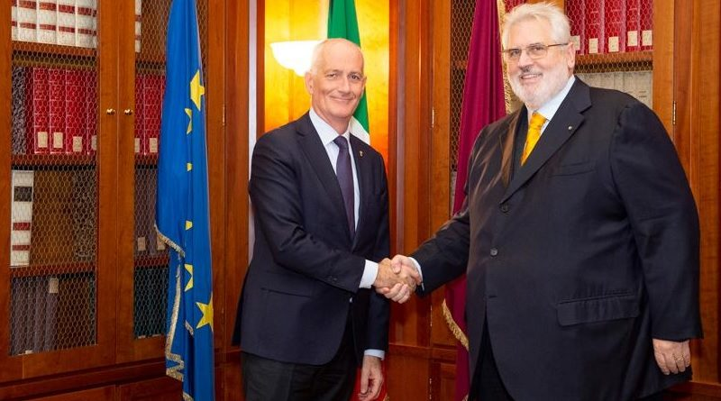 Capo Polizia Direttore Generale della Pubblica Sicurezza, Franco Gabrielli - Presidente Assaeroporti Fabrizio Palenzona