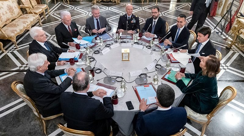 Consiglio Supremo di DIfesa 2019