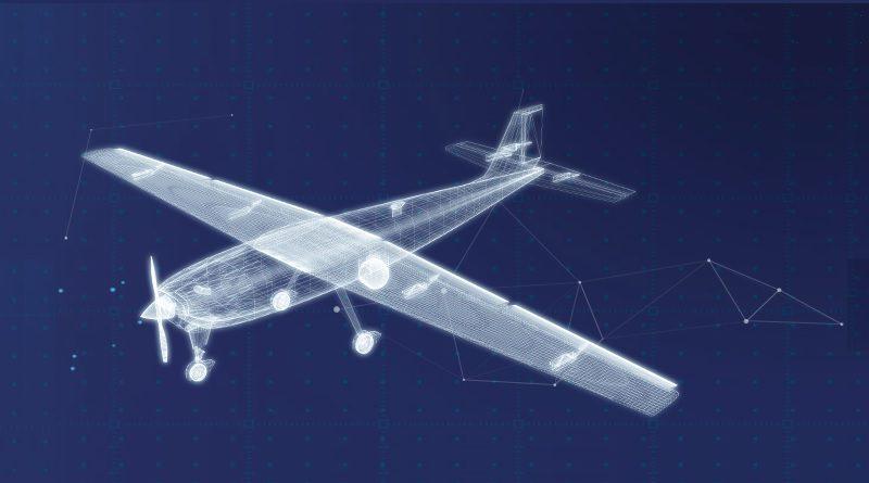 Spazio-News Magazine Drone Aereo studio CAD 3D