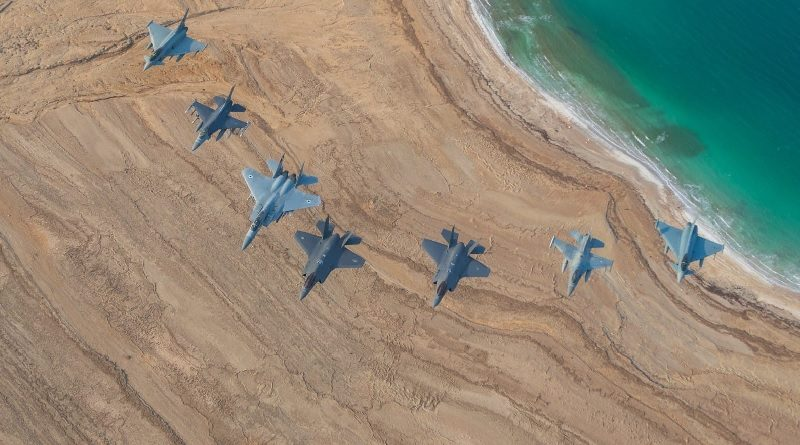 Esercitazione Blue Flag 19 - F-35 Israeli Air Force - IAF Eurofighter Aeronautica Militare Italiana