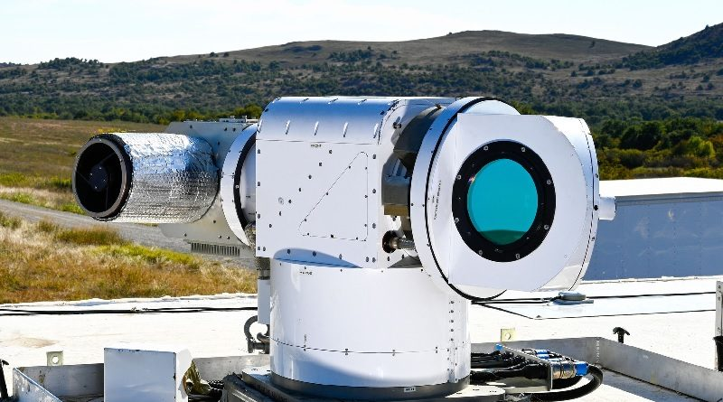 Lockheed Advanced Test High Energy Asset - ATHENA Drones Laser