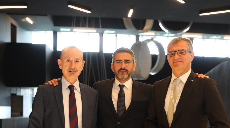 Riccardo Fraccaro, Carlo Massagli ComInt, Giorgio Saccoccia ASI - Agenzia Spaziale Italiana