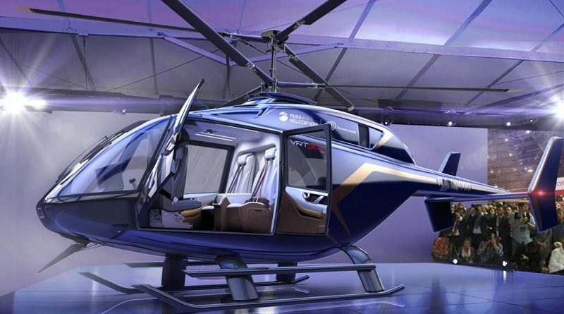 Russian Helicopters - VR-Technologies VRT500 helicopter