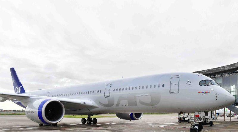 Scandinavian Airline System Denmark-Norway-Sweden - SAS Airbus A350-900