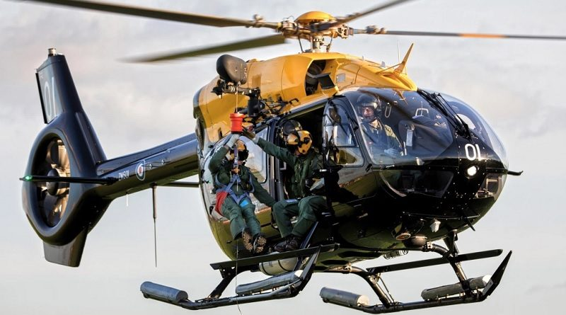 Airbus H145 Jupiter - Ascent Flight Training Management Ltd - Military Flight Training System – UKMFTS