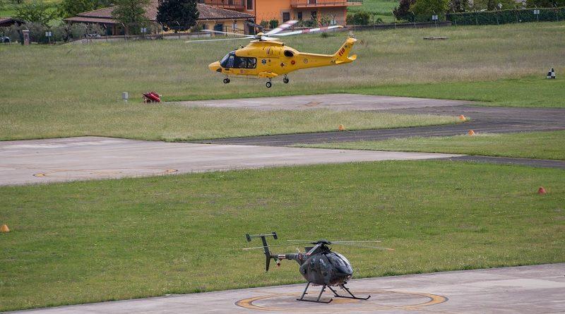 Helicopter Emergency Medical Service - HEMS 72° Stormo Aeronautica Militare - AMI - ARES 118 Lazio - ASL Frosinone - ELITALIANA