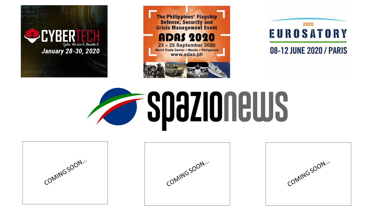 Spazio-News Magazine - Media Partner - Event 2020 - 2