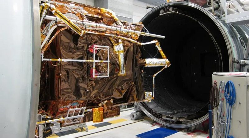 Airbus Satellite Pléiades Neo starts T-Vac test