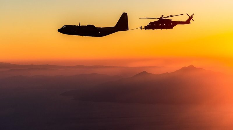 Boeing tanker KC-130 46° Brigata Area di Pisa elicottero HH-101A Cesar 15° Stormo di Cervia Aeronautica Militare