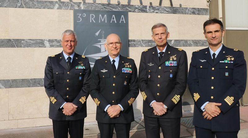 Difesa Aeronautica Mililtare Aeroporto Giannino Ancillotto Treviso 3° Reparto Manutenzione Aeromobili e Armamento - III RMAA