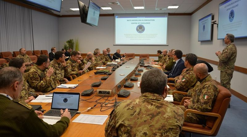 NATO Modelling & Simulation Centre of Excellence - NATO M&S COE - Difesa