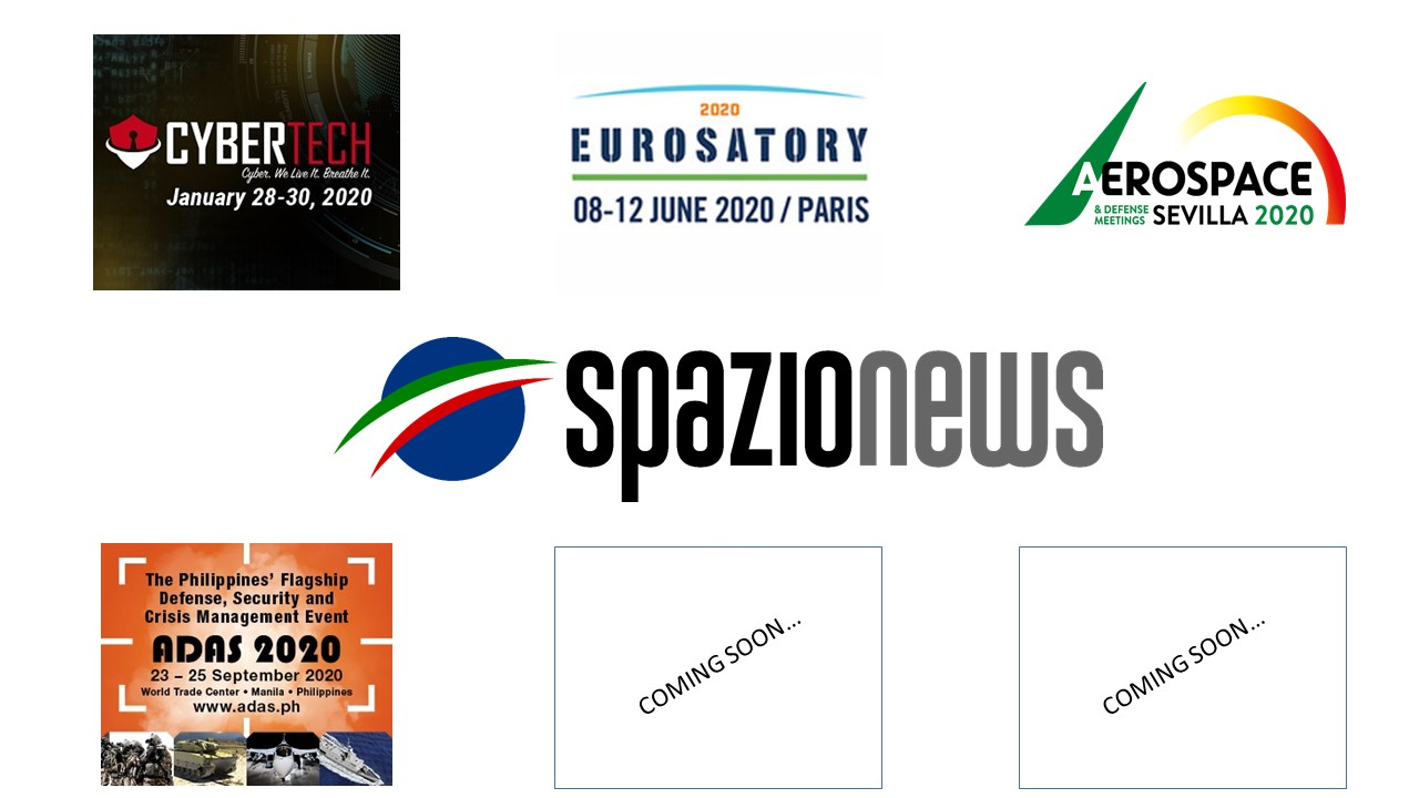 Spazio-News Magazine - Media Partner - Event 2020 - 3