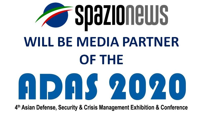 Spazio-News Magazine is Media Partner of the ADAS 2020 Manila