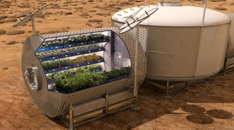 GreenCube micro orto coltivare verdure esplorazioni spaziali