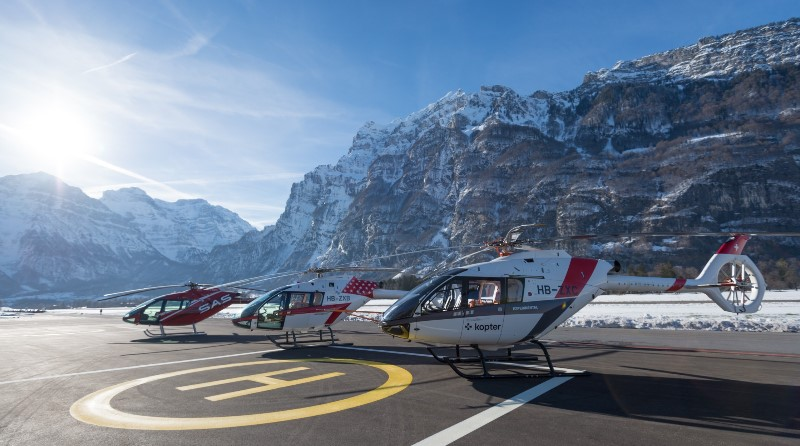 Leonardo elicotteri SH09 Kopter Group AG - ex Marenco Swiss Helicopter - Lynwood AG