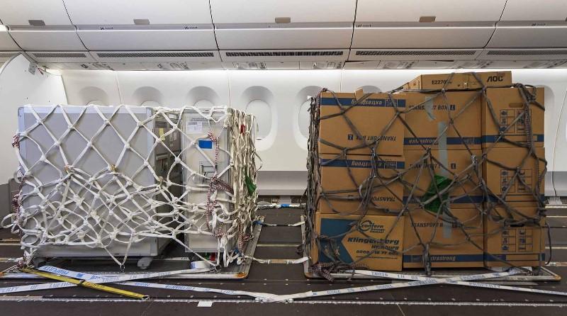 Airbus aeromobili Famiglia A330 A350 pallet trasporto merci dei sedili classe economy cargo Logistica