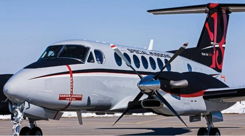 Beechcraft King Air 350ER Maritime Patrol Aircraft – MPA 800x446