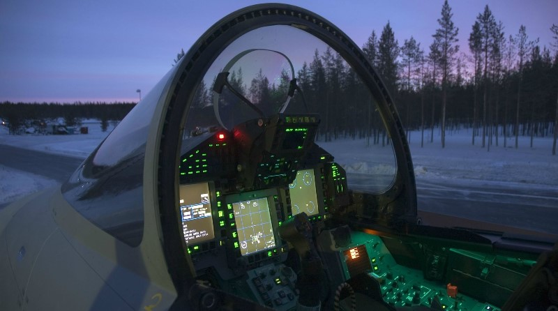 Eurofighter cockpit Typhoon