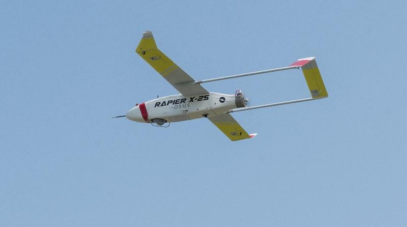 Drone Rapier X-25 Sky Eye Systems UAV - Officine Meccaniche Foligno - OMA - Massimo Lucchesini
