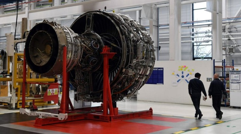Motore aereo industria lavoro spazio-news.it Rolls Royce Aviation Job