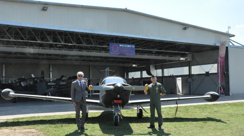 Officine Meccaniche Aeronautiche – OMA SpA, Aeronautica Militare, T-260B, Umberto Nazzareno Tonti, Alberto Rosso AMI
