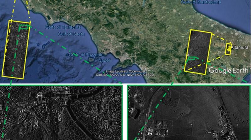 osservazione della terra - costellazione COSMO-SkyMed di Seconda Generazione – CSG, sensore SAR - Radar ad Apertura Sintetica