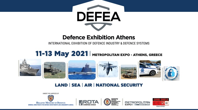 Spazio-News Magazine, strategic media partner, Defence Exhibition Athens - DEFEA 2021