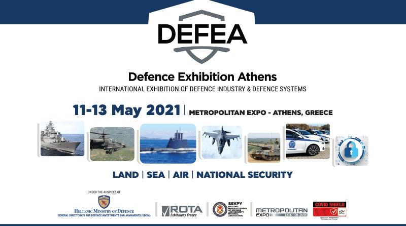 Spazio-News Magazine, strategic media partner, Defence Exhibition Athens - DEFEA 2021