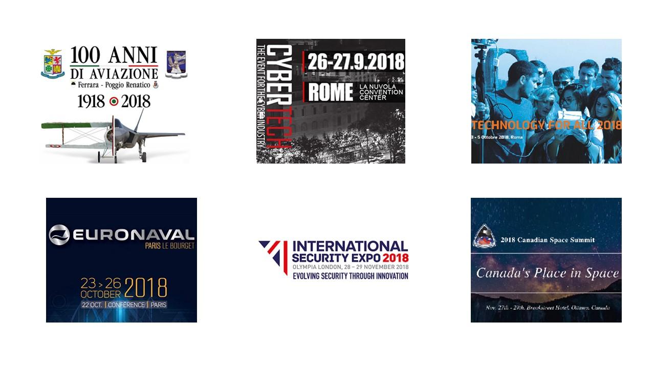 Spazio-News Magazine - Media Partner - Event 2018 - 1