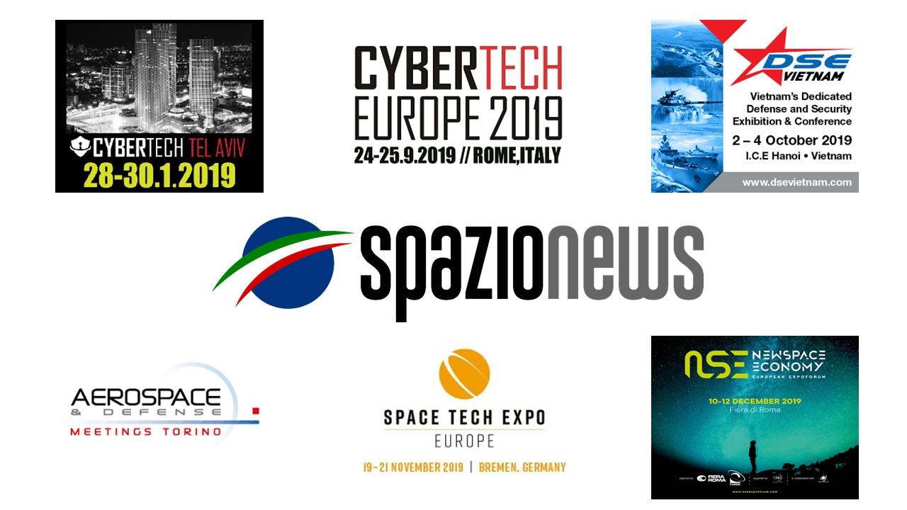 Spazio-News Magazine - Media Partner - Event 2019 - 2