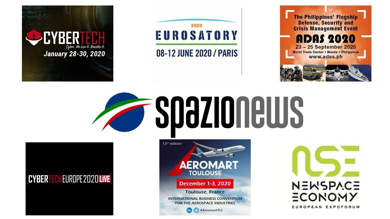 Spazio-News Magazine - Media Partner - Event 2020