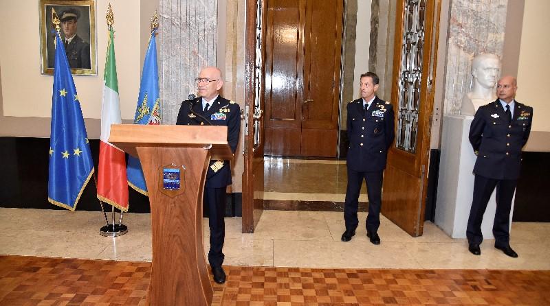 Capo di Stato Maggiore dell'Aeronautica Militare, Alberto Rosso - Generale Antonio Maurizio Agrusti - Roberto Di Marco
